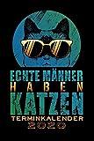 Terminkalender 2020: Katze Katzen Terminkalender und Tagesplaner ca DIN A5 farbig | 376 Seiten | 1 Seite pro Tag | Katzenliebhaber | Mieze Meow