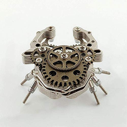 MYYINGELE Insect de Rompecabezas de Metal 3D, Puzle de Bricolaje para Ensamblar el Kit de Construcción de Modelos, Regalo de Artesanía en Metal Cortada con Láser Adultos, Beetle