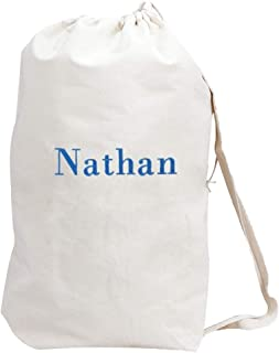 GiftsForYouNow Embroidered Any Name Laundry Bag, Drawstring, 19