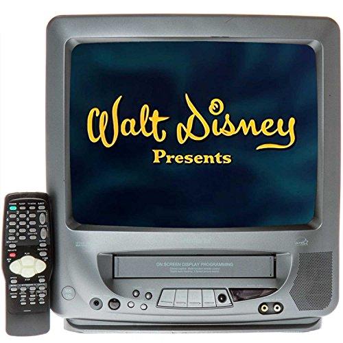 "Memorex 13"" TV/VCR Combo + 12 VHS Movies"