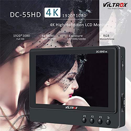 Viltrox DC-55HD - Monitor vídeo Pantalla LCD HD IPS