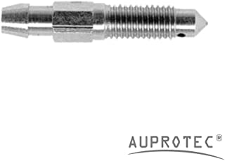 AUPROTEC 2 Stück Entlüfterschraube M7 x 1,0 Länge 38,3 mm Schlüsselweite 7 (Artikel Nr. 450087)