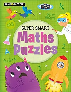 Brain Boosters: Super-Smart Maths Puzzles