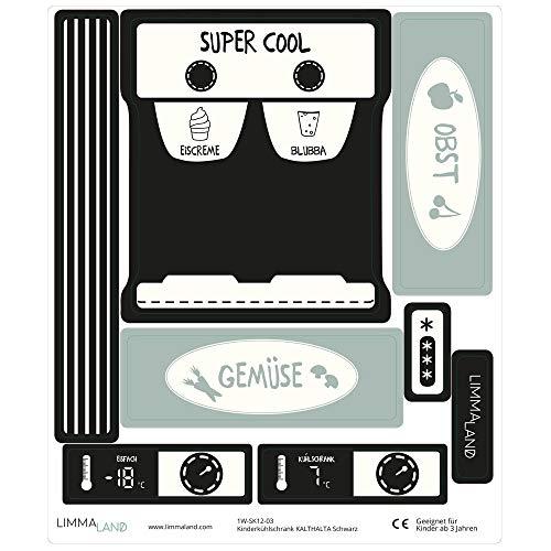 Limmaland Sticker für einen Kinderkühlschrank - DIY Set - Möbel Nicht inklusive