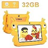 Tablet para Niños 2GB RAM y 32GB ROM / 32 GB de Memoria Extendida, Quad Core Dual Cámara 7 Pulgadas IPS Pantalla Android 6.0 WiFi Tablet Infantil PC