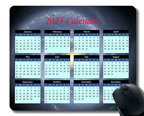 2021 Calendar Mouse pad Gaming Mouse pad Mousepad,Aerial View of Clouds in Sky Gaming Mouse Mat