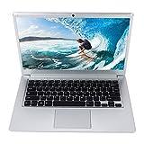 2020 New Ordenador Portátil Lapbook 14.1 Pulgadas , 6GB+64GB/1 TB expandible Laptop , Intel Atom x5 N3350 Processor Windows 10 Home 1.10Ghz CPU,HD 1366 * 768 WiFi/HDMI/Bluetooth (Plata)