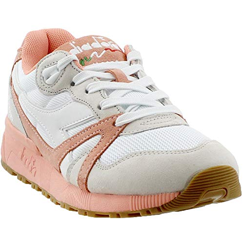 Diadora Mens N9000 Iii Lace Up Sneakers Shoes Casual - Pink - Size 8.5 M