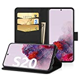 EasyAcc Case for Samsung Galaxy S20/ S20 5G, Leather Wallet