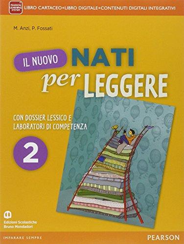 Nuovo nati per leggere. Con Letteratura. Per la Scuola media. Con e-book. Con espansione online (Vol. 2)