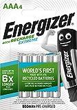Energizer Energizer Wiederaufladbare AAA 800 mAh 4PK