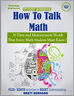 How to Talk Math: 30 Data and Measurement words that every math student MUST KNOW!