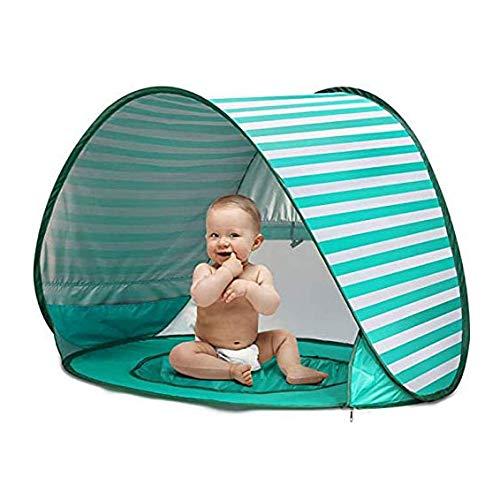 LXYSB Außensonnenschutz Zelte, Sonnenschutz Strand Kinder Zelte, leicht bewegliches Faltbare Meer Schnell Öffnen Picknick-Zelt