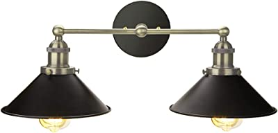 2 Two Frosted Slip Shade Ceiling Lamp Light Fixture Sconce Bonnet LOT