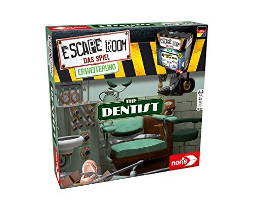 Noris 606101775 - Escape Room Erweiterung The Dentist - Familien und Gesellschaftsspiel für Erwachsene - Nur mit dem Chrono Decoder spielbar - ab 16 Jahren