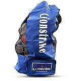 Lionstrike Saco para guardar pelotas de fútbol, con bolsillo lateral–Alta calidad
