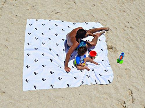 Oversized Beach Towel Large & Microfiber - 74