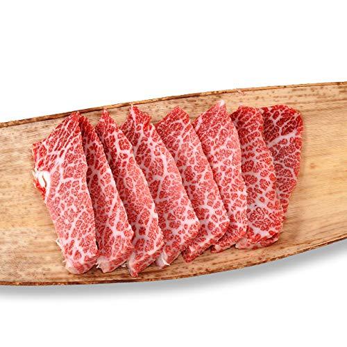 [肉贈] 最高級 極上 松阪牛 ギフト 焼肉 特上カルビ(三角バラ)1,200g 1.2kg(6?8名様用)