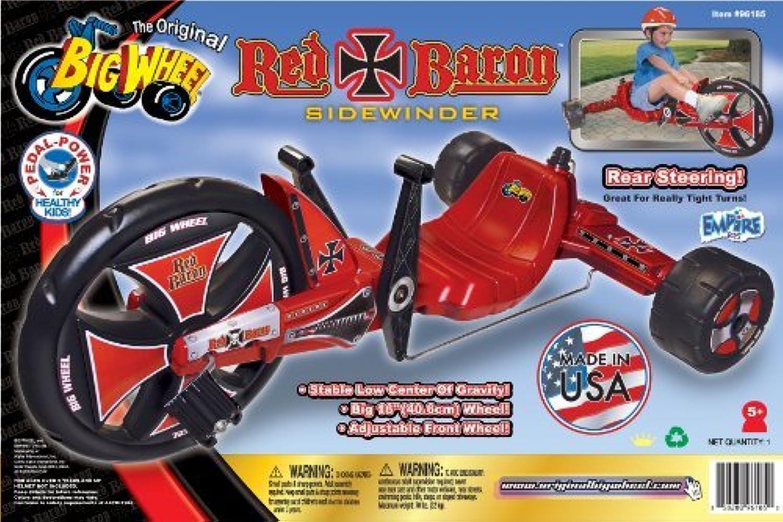 Big Wheel Baron Ride On, rot by Big Wheel