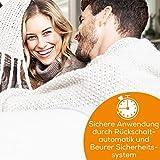 Beurer UB 90 Komfort Wärme-Unterbett, anschmiegsame Wärmebettunterlage, zwei separat einstellbare Temperaturzonen - 2