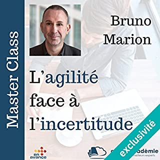 Couverture de L'agilité face à l'incertitude