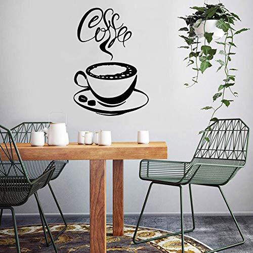 sanzangtang Moderne koffie keuken muur applique coffeeshop commerciële muurschildering keuken kamer sticker