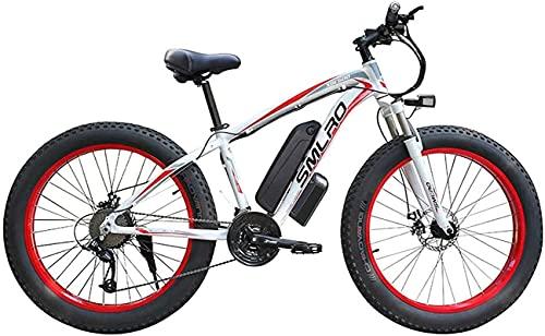 Bicicleta electrica Bicicleta eléctrica Aleación de Aluminio Litio Batería Playa Moto de...