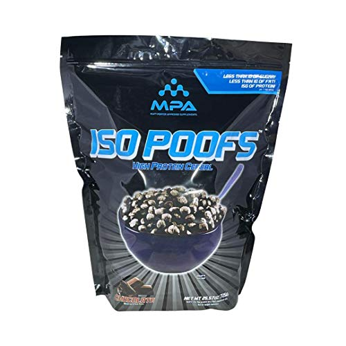 Iso Poofs, Protein Puffs, Keto Friendly Chocolate Flavored Cereal from MPA