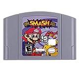 Cenxaki Game Cartridge Card for Nintendo 64 Super Smash Bros N64 US Version - Gray