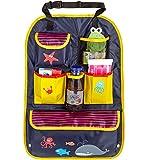 CARTO organizador infantil para asiento de coche, colorido con compartimientos y bolsillos,...