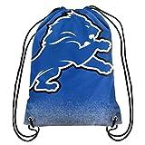 Detroit Lions NFL Gradient Drawstring Backpack