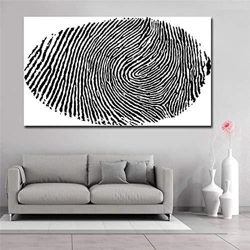 NFXOC Cuadro de Arte de Pared Pintura de Arte en Lienzo Póster e impresión en Blanco y Negro Abstracto Giclee para Sala de Estar Decoración de la Pared del hogar (70x140cm) Sin Marco