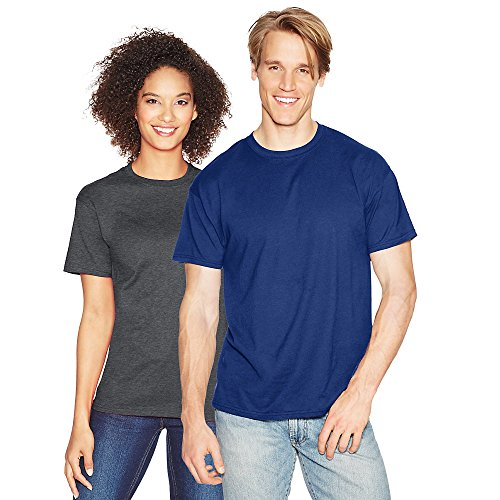 Hanes T-Shirt X-Temp pour Homme, Grand, Deep Royal