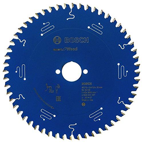 Bosch Professional Kreissägeblatt Expert für Wood (Holz, 210 x 30 x 2,4 mm, 56 Zähne, Zubehör Kreissäge)