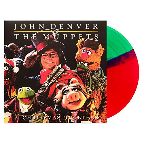 John Denver & The Muppets – A Christmas Together Red & Green Split Vinyl