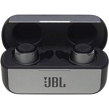 JBL Reflect Flow In-Ear Bluetooth-Kopfhörer in Schwarz – Kabellose Ohrhörer mit Talk Thru-Technologie & Mikrofon – Wasserdichte Sport-Kopfhörer Klasse IPX7 – Inkl. Ladecase
