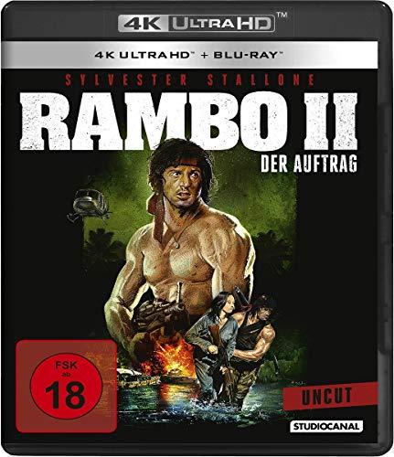Rambo II - Der Auftrag / Uncut (4K Ultra HD) [Blu-ray]