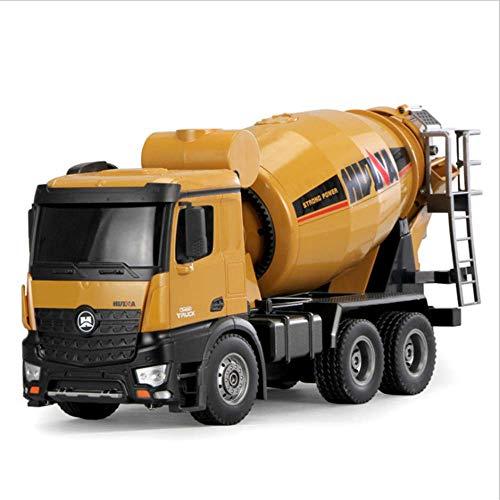 RC Cement Mixer Truck 10 Channel 2.4Ghz Grote Remote Control Car Auto Dumping Construction Vehicle Speelgoed Voor Kids Boys Leeftijd 6-14 Jaar Oud PL