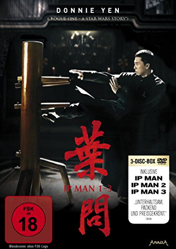 Ip Man 1-3 [3 DVDs]