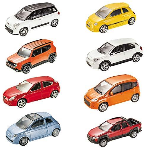 Mondo Motors - Italian Style Collection Macchinine Giocattolo Regalo per Bambini - Età 3,4,5,6 Anni - Scala 1:43 - Repliche auto Italiane- 53140