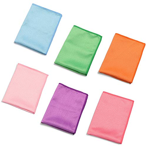 1 Pc Glazen Reiniging Veeg Spiegel Wassen Handdoek Schuifkussen Microvezel Reiniging Rags Voor Gebruik Als Glazen Reiniger Wipes Of Eyeglass Reinigen Willekeurige Kleur