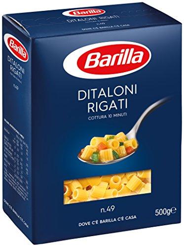 Barilla - Ditaloni Rigati, Cocinando 11 minutos - 6 piezas de 500...