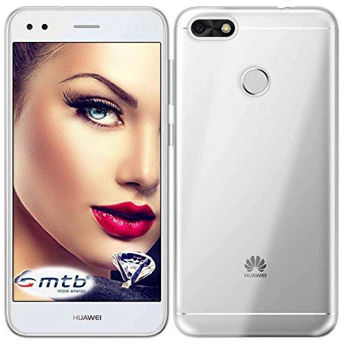 mtb more energy® Schutz-Hülle Clear und Slim für Huawei P9 lite Mini / Y6 Pro 2017 (5.0'') - transparent - flexibel - TPU Silikon Hülle Cover Tasche