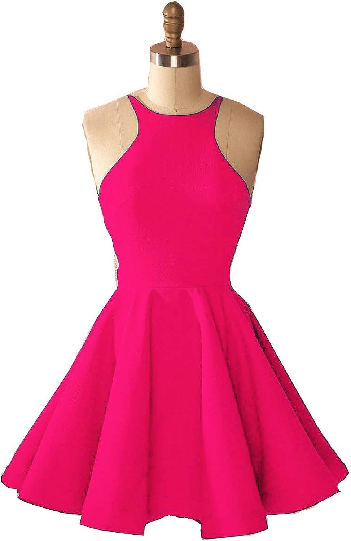 Fanciest Women's Backless Homecoming Dresses Short 2018 Homecoming Dress