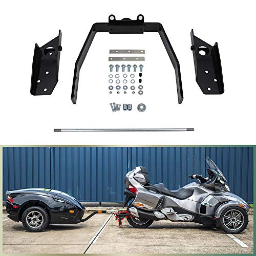 NIXFACE Trailer Hitch Receiver Mount Kit Fit for 2008-2020 Can-Am Spyder RT, RS, ST, GS, F3-T and F3 Limited -  NIXFACE NI-C127