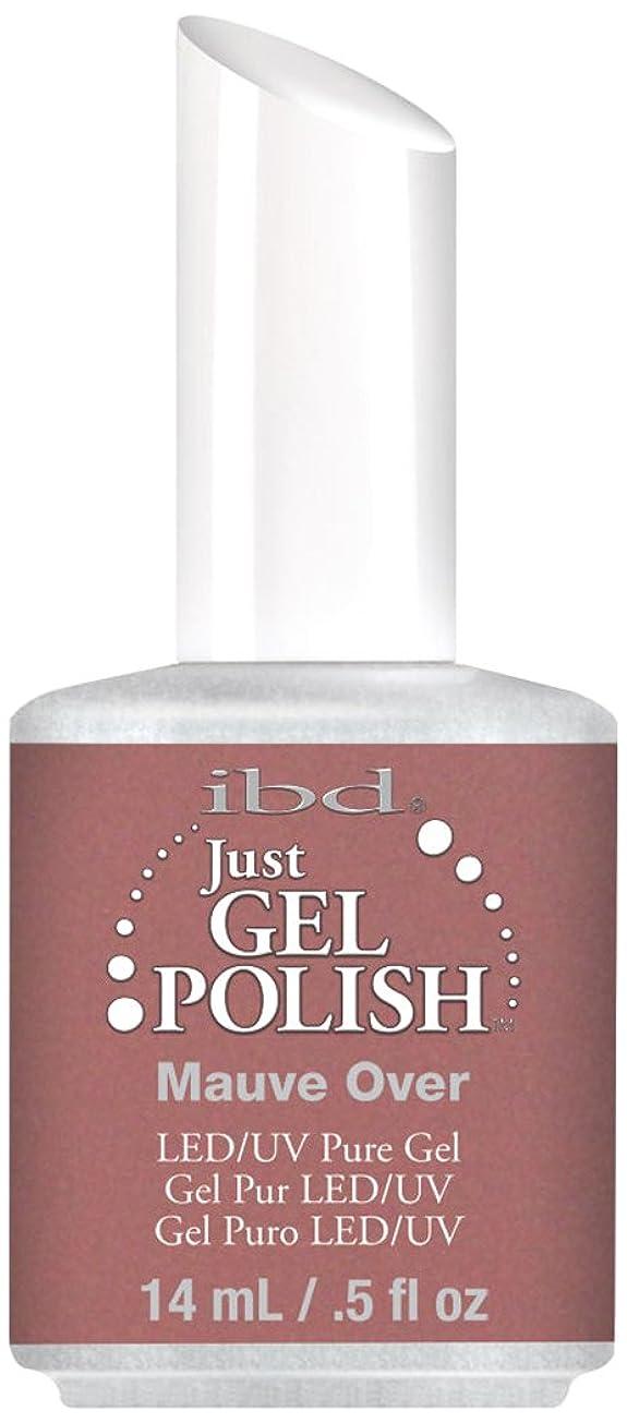 かる不名誉先生IBD Just Gel Polish - Mauve Over - 0.5oz / 14ml