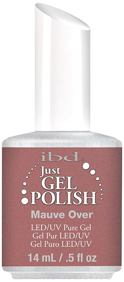 ダニそこからアベニューIBD Just Gel Polish - Mauve Over - 0.5oz / 14ml