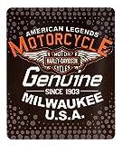 Northwest Harley Davidson Fleece Throw Blanket (6 Styles) 50 x 60 - Legend