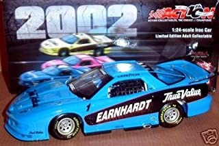 1999 Dale Earnhardt #1 Blue IROC True Value 1/24 Scale Limited Edition Firebird Xtreme Action Racing 2002 Edition