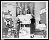 HistoricalFindings Photo: Victor David Gruen,Eve Arden,CBS Television Cameras,Shopping Center